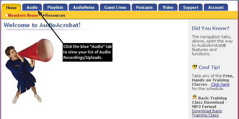 Publishing Audio to Social Networks: Facebook