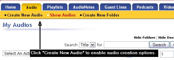 Audio Uploading Tips for Musicians