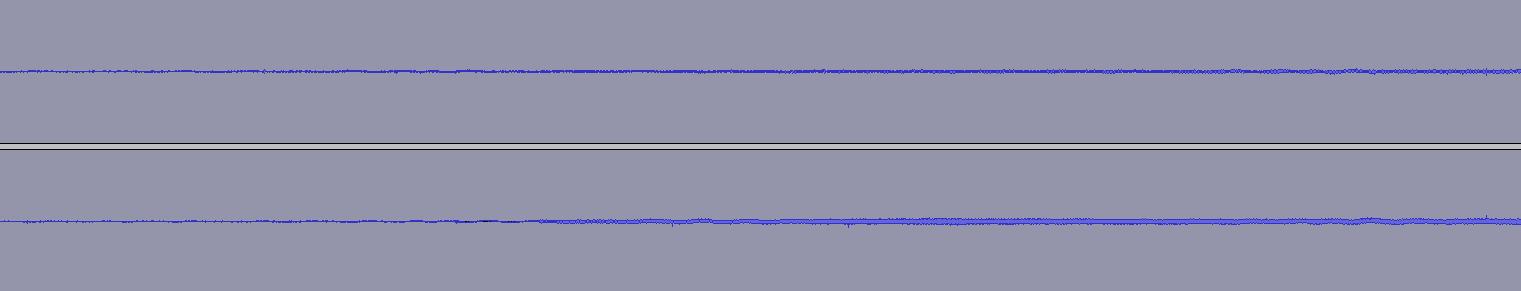 Waveform after Click Removal