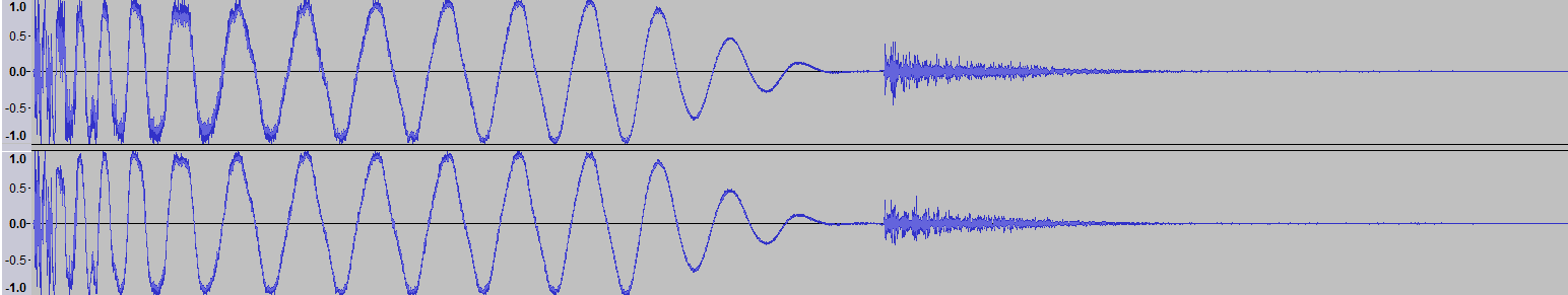 Audacity: Dynamic Range Compressor (Windows 7)