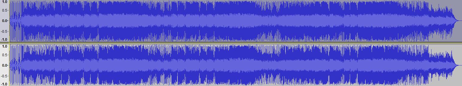 Audacity >> Waveform