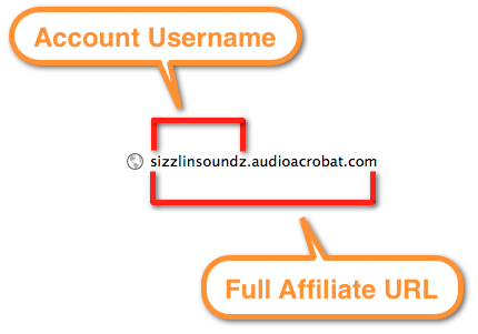 AudioAcrobat Affiliate URL