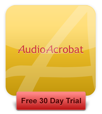 AudioAcrobat | 30 Day Free Trial