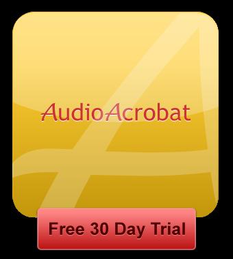 AudioAcrobat | 30 Day Free Trial