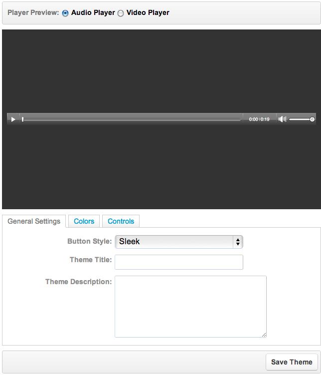 Player Theme Editor