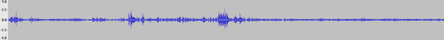 Audacity >> Waveform