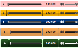 Custom Audio Player Themes for Coaches