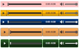 AudioAcrobat Player Themes