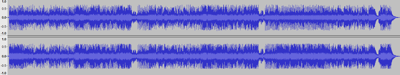 Audacity-Waveform