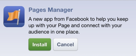 New iOS App: Facebook Pages Manager