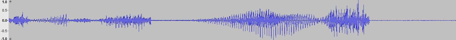 Audacity >> Waveform >> Reversed