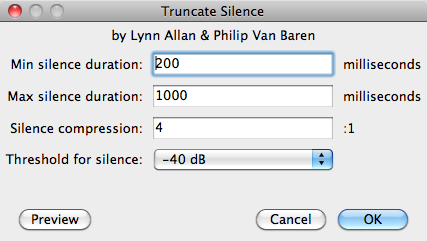 how to add silence in audacity