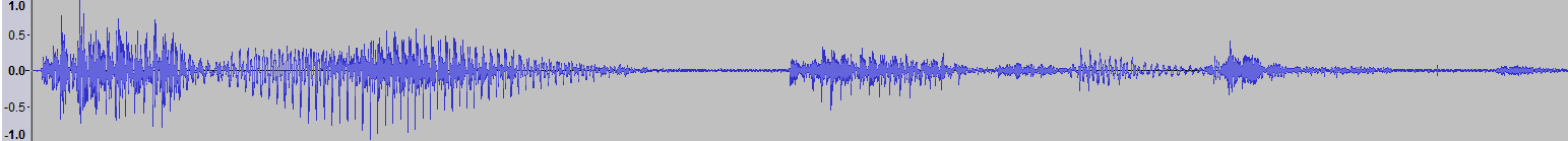 Audacity: Delay for Multiple Echo Effect (Windows 7)