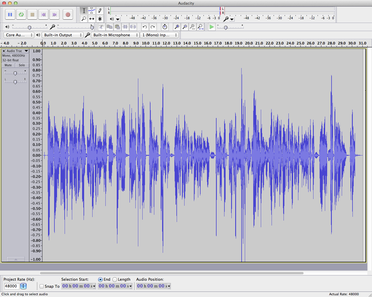 Audacity: Trim Peaks to Boost Loudness (Without Clipping