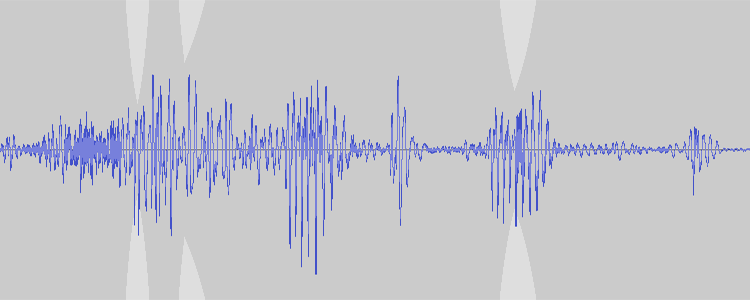 audacity waveform-sticky