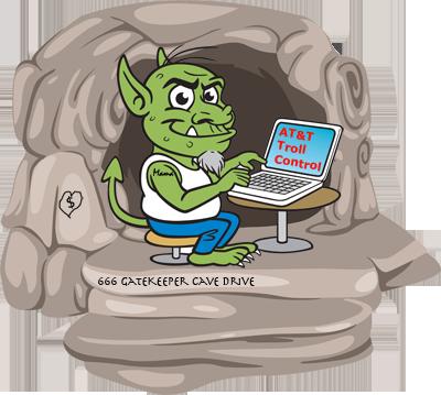 Gatekeeper-Troll