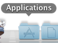 Mac OS X-Dock-Applications Folder
