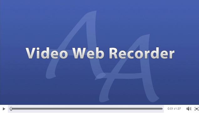 AudioAcrobat-Video Web Recorder