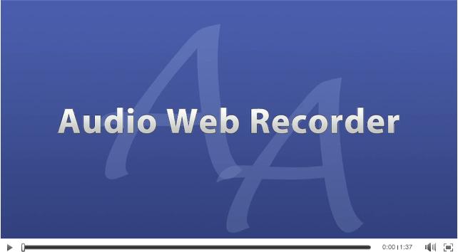 AudioAcrobat-Video-Audio Web Recorder