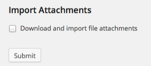 import attachments