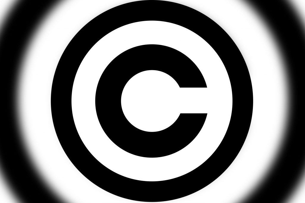 Copyright Logo Remixed by Brian Ball for AudioAcrobat